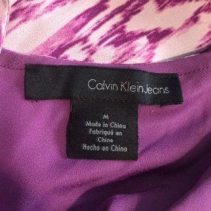 Calvin Klein Jeans Dresses - NWOT Calvin Klein Purple Dress